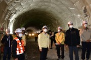 거제시, 40년 숙원 거제동서간연결도로 명진터널 뚫려